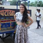 """Mumbai: Actress Radhika Madan arrives for the song launch of film """"Pataakha"""", in Mumbai on Aug 28, 2018. (Photo: IANS) by ."""