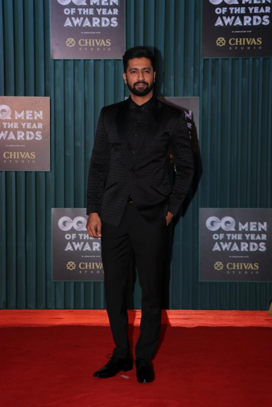 "Mumbai: Actor Vicky Kaushal at the ""GQ Men of the Year Awards 2018"" in Mumbai on Sept 27, 2018. (Photo: IANS) by ."