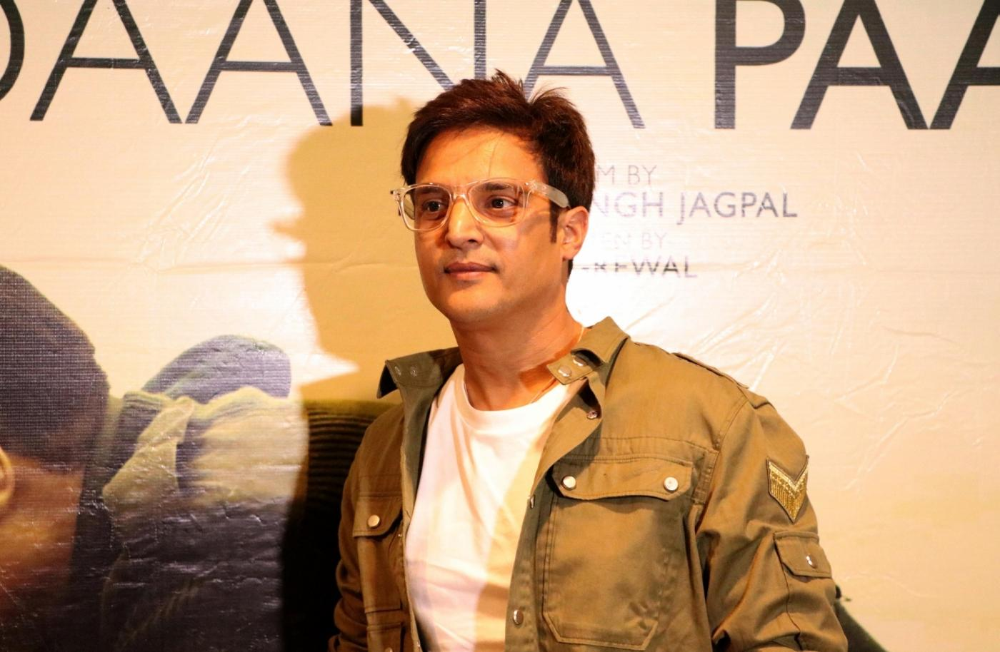 Amritsar: Actor Jimmy Sheirgill during the promotion of his upcoming film