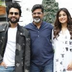 "New Delhi: Director Nitin Kakkar, actors Jackky Bhagnani and Kritika Kamra during the promotion of their upcoming film ""Mitron"" in New Delhi on Sept 10, 2018. (Photo: Amlan Paliwal/IANS) by ."