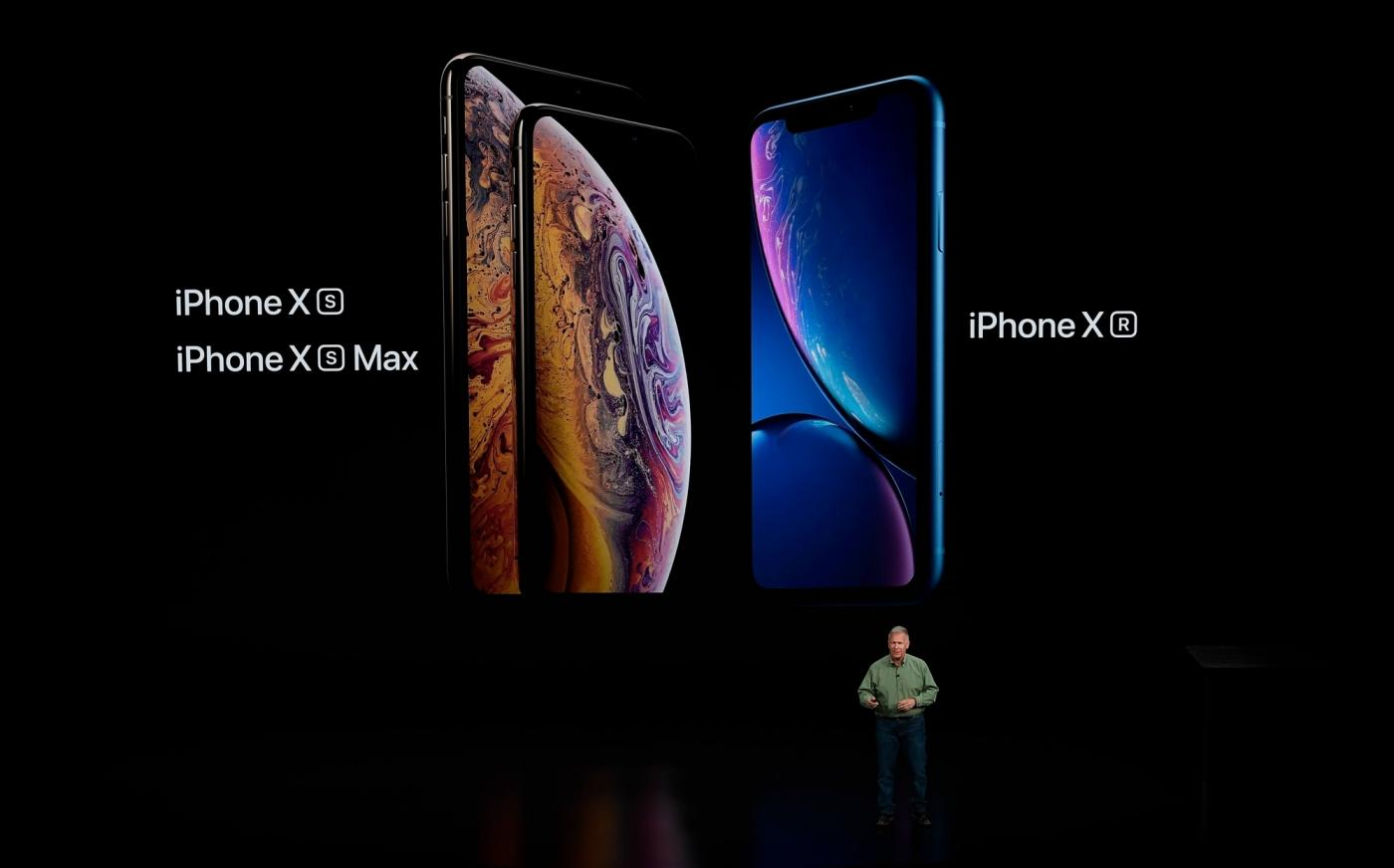 CUPERTINO, Sept. 13, 2018 (Xinhua) -- Phil Schiller, Apple's senior vice president of worldwide marketing, speaks about the newly released iphones at the Steve Jobs Theater during an event to announce new Apple products in Cupertino, the United States, on Sept. 12, 2018.(Xinhua/IANS) by .