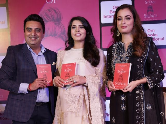 New Delhi: Actress Dia Mirza during the release of the book