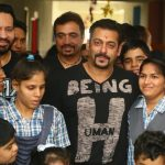 """Jaipur: Actor Salman Khan at the inauguration of """"Umang"""" -- a centre for special children -- in Jaipur on Sept 18, 2018. (Photo: Ravi Shankar Vyas/IANS) by ."""