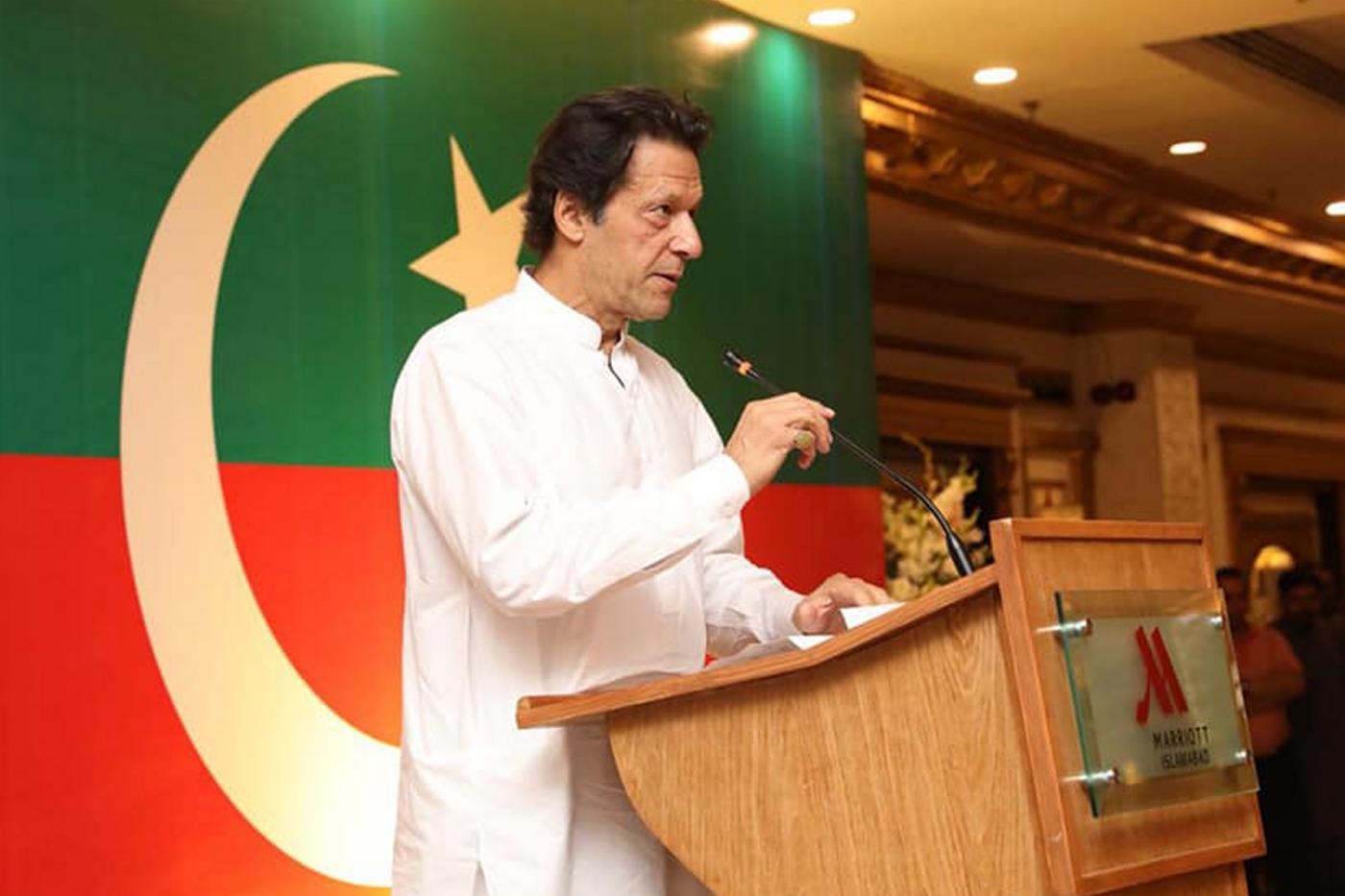 Pakistan Prime Minister Imran Khan. (File Photo: XINHUA/IANS) by .