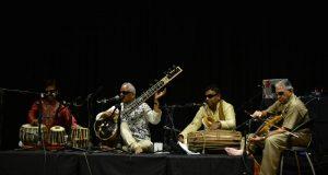 Inner Vision Orchestra with Baluji Shrivastav at Sitar by .