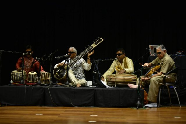 Inner Vision Orchestra with Baluji Shrivastav at Sitar by .