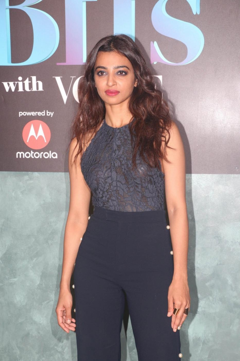 Actress Radhika Apte. (File Photo: IANS) by .