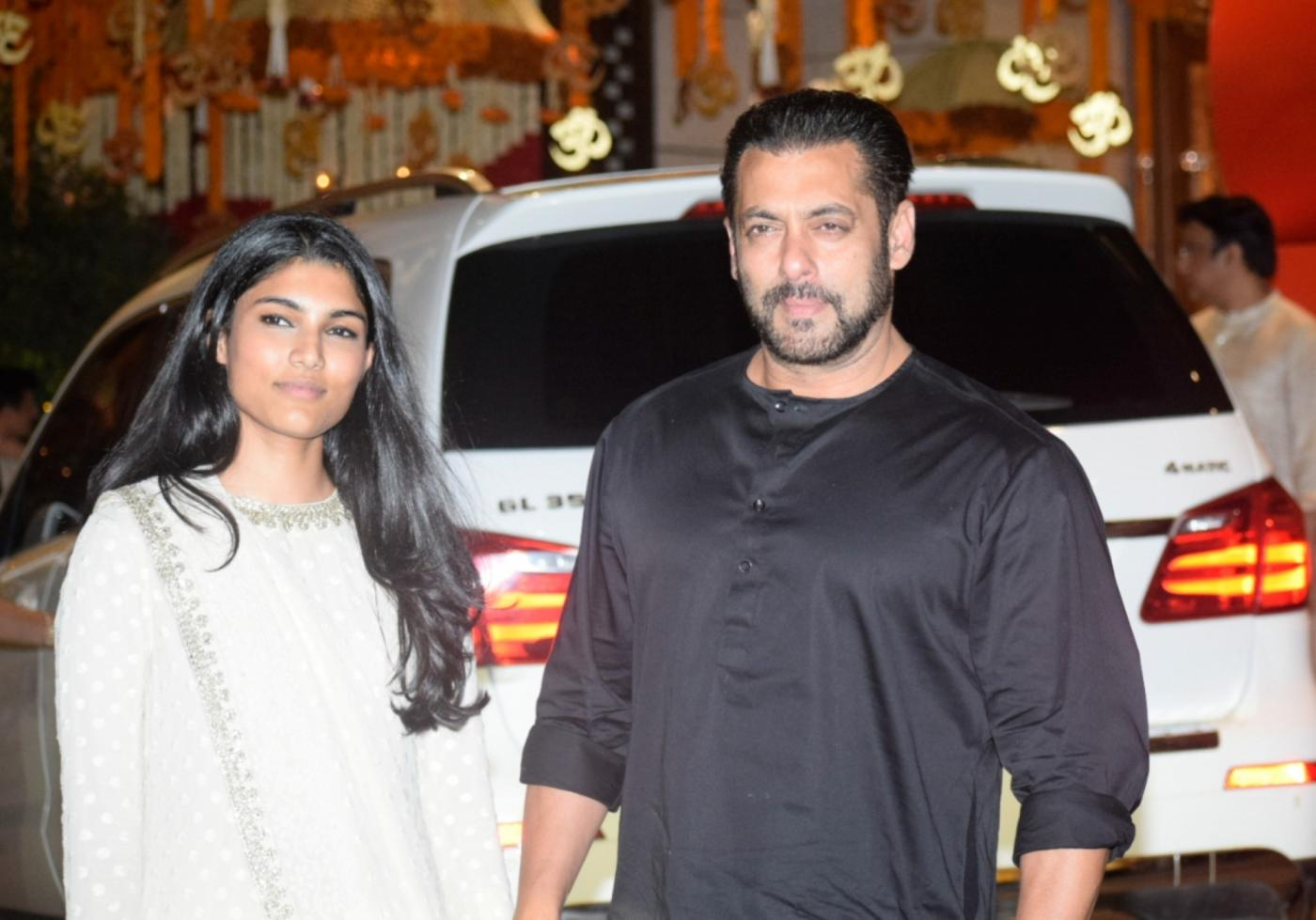Mumbai: Actor Salman Khan arrives at Reliance Industries Chairman and MD Mukesh Ambani's residence to celebrate Ganesh Chaturthi in Mumbai on Sept 13, 2018. (Photo: IANS) by .