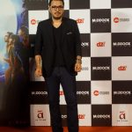 "Mumbai: Producer Dinesh Vijan at the trailer launch of his upcoming film ""Stree"" in Mumbai on July 26, 2018.(Photo: IANS) by ."