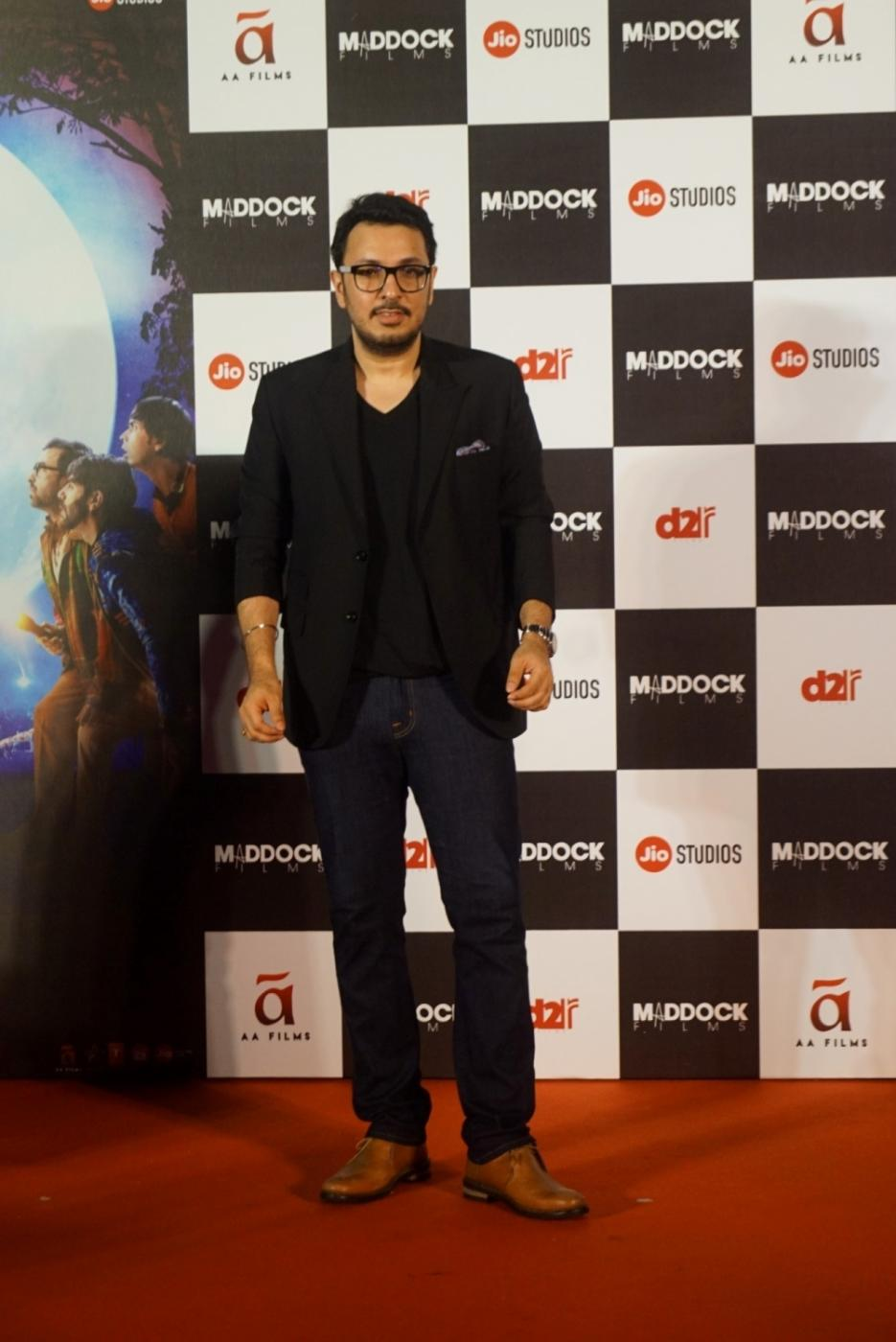 "Mumbai: Producer Dinesh Vijan at the trailer launch of his upcoming film ""Stree"" in Mumbai on July 26, 2018.(Photo: IANS) by ."
