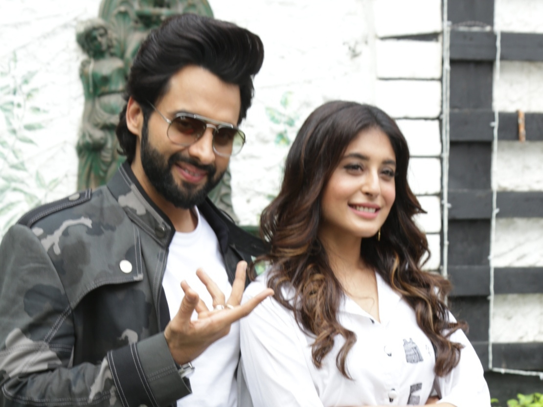 New Delhi: Actors Jackky Bhagnani and Kritika Kamra during the promotion of their upcoming film