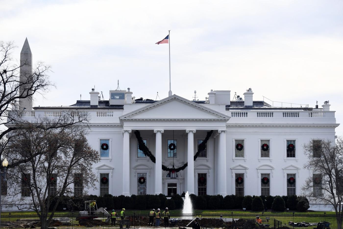 White House. (File Photo: Xinhua/Yin Bogu/IANS) by .