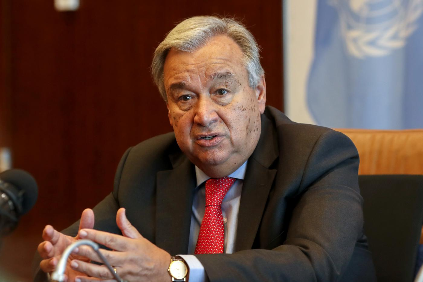 UN-SECRETARY GENERAL-CHINA-AFRICA COOPERATION-INTERVIEW by .