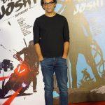 """Mumbai: Director Vikramaditya Motwane at the trailer launch of his upcoming film """"Bhavesh Joshi Superhero"""" in Mumbai onMay 2, 2018. (Photo: IANS) by ."""