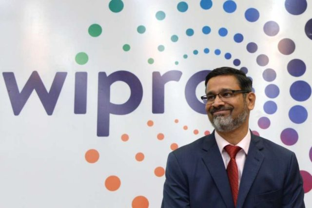 Bengaluru: Wipro CEO Abidali Z. Neemuchwala during a press conference organised to announce Q1 financial results of FY 2018-19 in Bengaluru, on July 20, 2018. (Photo: IANS) by .