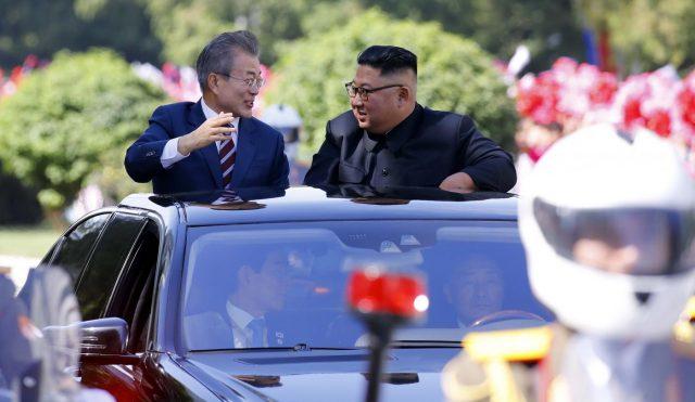 DPRK-SOUTH KOREAN PRESIDENT-ARRIVAL by .