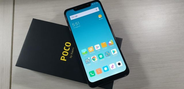 POCO F1 from Xiaomi. (Photo: IANS) by .