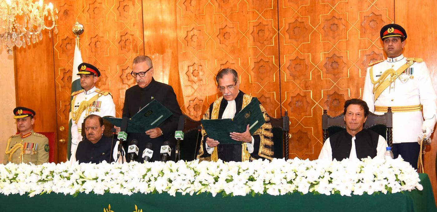 PAKISTAN-ISLAMABAD-PRESIDENT-OATH by .