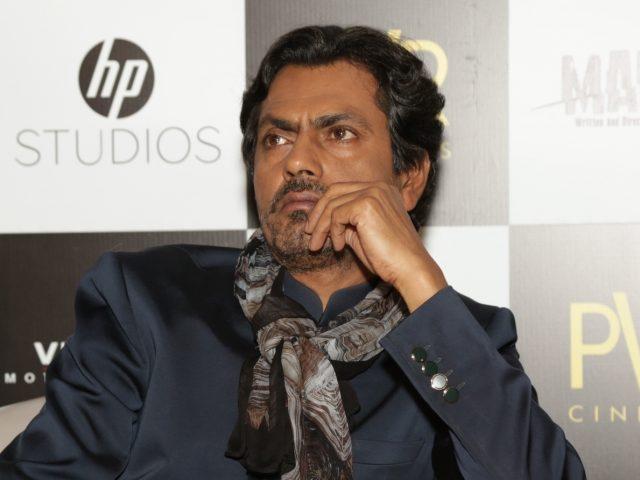 New Delhi: Actor Nawazuddin Siddiqui at a press conference regarding his upcoming film