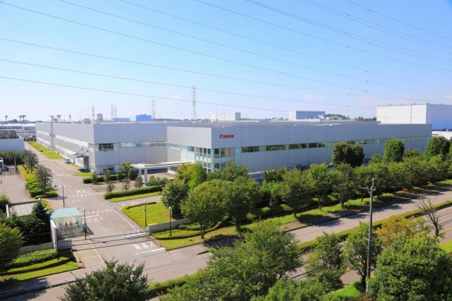 Canon's manufacturing plant in Utsunomiya – the capital of Tochigi Prefecture in the Kanto region of Japan -- about 100 km north of Tokyo. by .