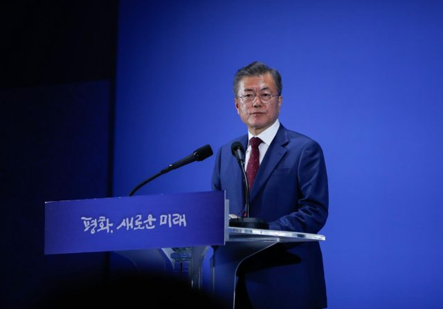 SOUTH KOREA-SEOUL-MOON JAE-IN-SPEECH by .