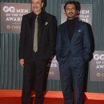 """Mumbai: Director Rajkumar Hirani and actor Nawazuddin Siddiqui at the """"GQ Men of the Year Awards 2018"""" in Mumbai on Sept 27, 2018. (Photo: IANS) by ."""