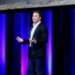 ADELAIDE, Sept. 29, 2017 (Xinhua) -- Elon Musk, Chief Executive Officer (CEO) of Space Exploration Technologies Corporation (SpaceX), speaks on the final day of the 68th International Astronautical Congress (IAC) in Adelaide, Australia, on Sept. 29, 2017. SpaceX unveiled its plans to put humans on Mars as early as 2024 in Australia on Friday. (Xinhua/Yan Han/IANS) by .