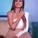 """New Delhi: Actress Shilpa Shetty Kundra at the launch of her dating reality show """"Hear Me Love Me"""" in New Delhi on Sept 18, 2018. (Photo: Amlan Paliwal/IANS) by ."""