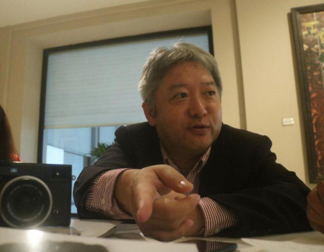 New Delhi: Fujifilm India Managing Director Haruto Iwata during an interview with IANS. (Photo: Bidesh Manna/IANS) by .
