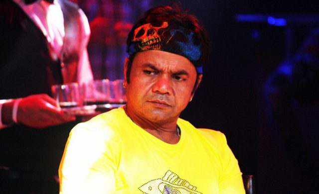 Mumbai: Rajpal Yadav during the location of film Hume Toh Loot Liya's title song. (Photo: IANS) by .