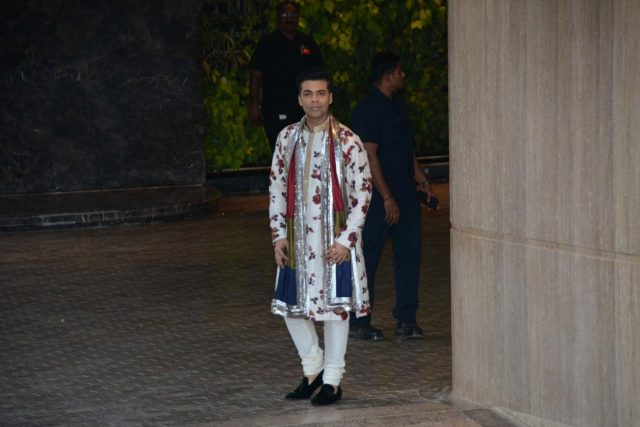 Mumbai: Filmmaker Karan Johar arrives to attend