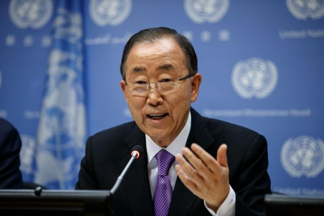 United Nations Secretary-General Ban Ki-moon. (File Photo: Xinhua/UN Photo/Rick Bajornas/IANS) by .
