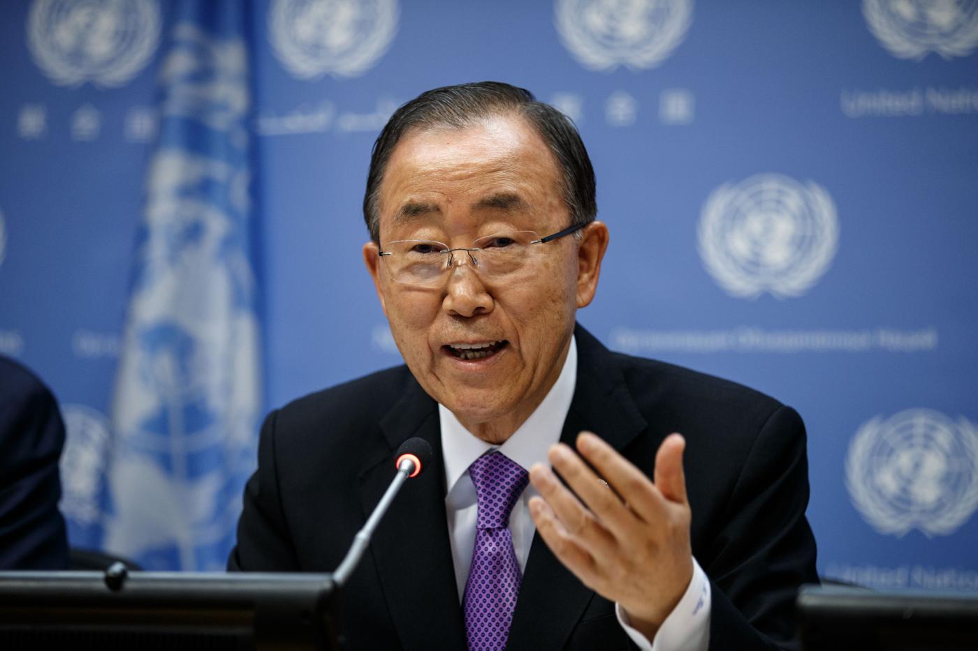 United Nations Secretary-General Ban Ki-moon. (File Photo: Xinhua/UN Photo/Rick Bajornas/IANS) by .