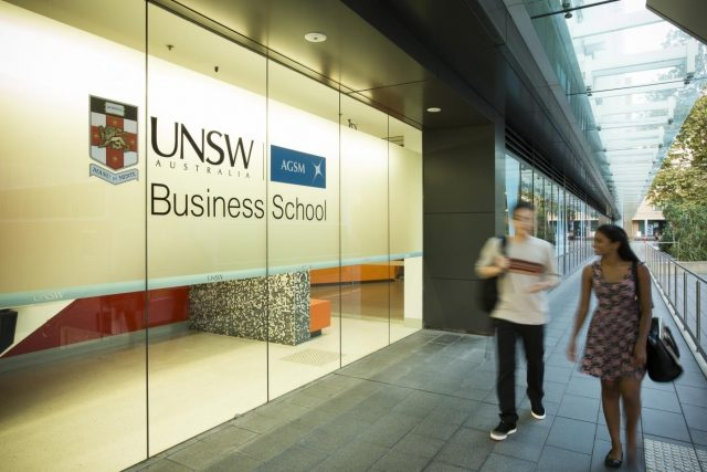 UNSW Business School. by .