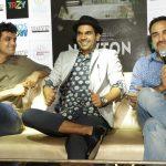 "New Delhi: Actor Rajkummar Rao, Pankaj Tripathi and screenwriter Amit Masurkar during a press conference to promote their upcoming film ""Newton"" in New Delhi on Sept 18, 2017. (Photo: Amlan Paliwal/IANS) by ."