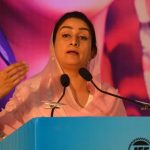 Union Food Processing Industries Minister Harsimrat Kaur Badal addresses at an interactive session, organised by the Indian Chamber of Commerce (ICC), in Kolkata on July 13, 2018. (Photo: IANS/PIB) by .