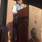 New Delhi: Sikkim Chief Minister Pawan Chamling addresses during JRD Tata Memorial Awards and Oration in New Delhi on Oct 12, 2018. (Photo: Twitter/@pawanchamling5) by .