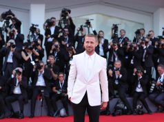 VENICE, Aug. 29, 2018 (Xinhua) -- Actor Ryan Gosling poses on the red carpet of the 75th Venice International Film Festival in Venice, Italy, Aug. 29, 2018. The 75th Venice International Film Festival kicked off here on Wednesday. (Xinhua/Cheng Tingting/IANS) by .