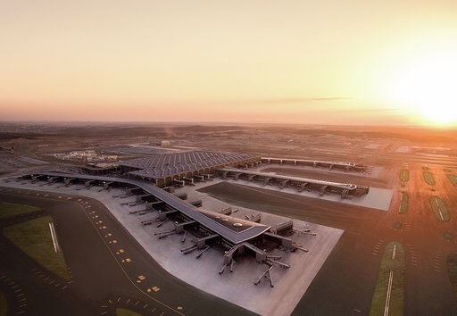 """World's largest airport """"under one roof """" to open in Istanbul by ."""