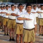 RSS volunteers. (File Photo: IANS) by .