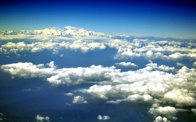 Himalayan : Himalayan: An aerial view of the Himalayan Range on Nov. 9, 2015. (Photo: IANS) by .
