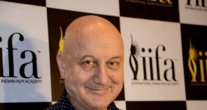Mumbai: Actor Anupam Kher at International Indian Film Academy (IIFA) awards Voting Weekend organised by the academy, in Mumbai on April 29, 2018. (Photo: IANS) by .