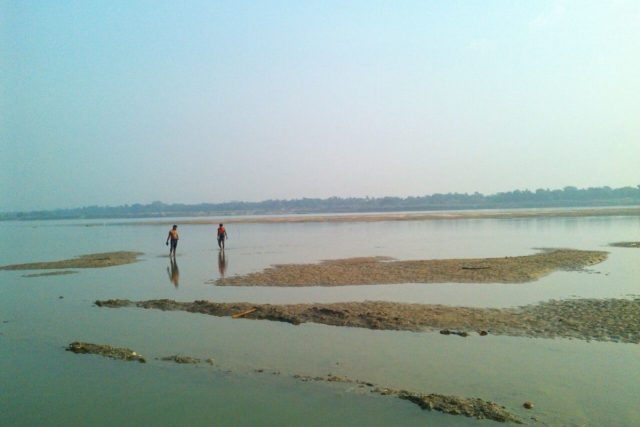 Decreasing summer river flows and increasing groundwater depletion will make only more difficult for regional policy makers to achieve the SDG targets by 2030. (Photo Credit: Abhijit Mukherjee) by .