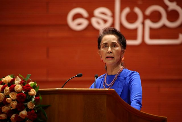 MYANMAR-NAY PYI TAW-PANGLONG PEACE CONFERENCE by .