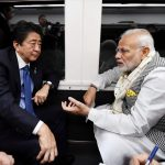 Japan: Prime Minister Narendra Modi and Japanese Prime Minister Shinzo Abe depart for Tokyo by Express Train Kaiji, in Japan on Oct 28, 2018. (Photo: IANS/PIB) by .