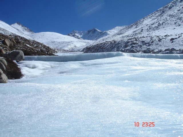 Norphel has created 17 artificial glaciers across Ladakh thereby solving the water woes of the region. by .