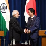 Tokyo: Prime Minister Narendra Modi and Japanese Prime Minister Shinzo Abe at the Joint Press Statement in Tokyo, Japan on Oct 29, 2018. (Photo: IANS/PIB) by .