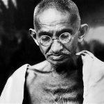 Mahatma Gandhi. by .