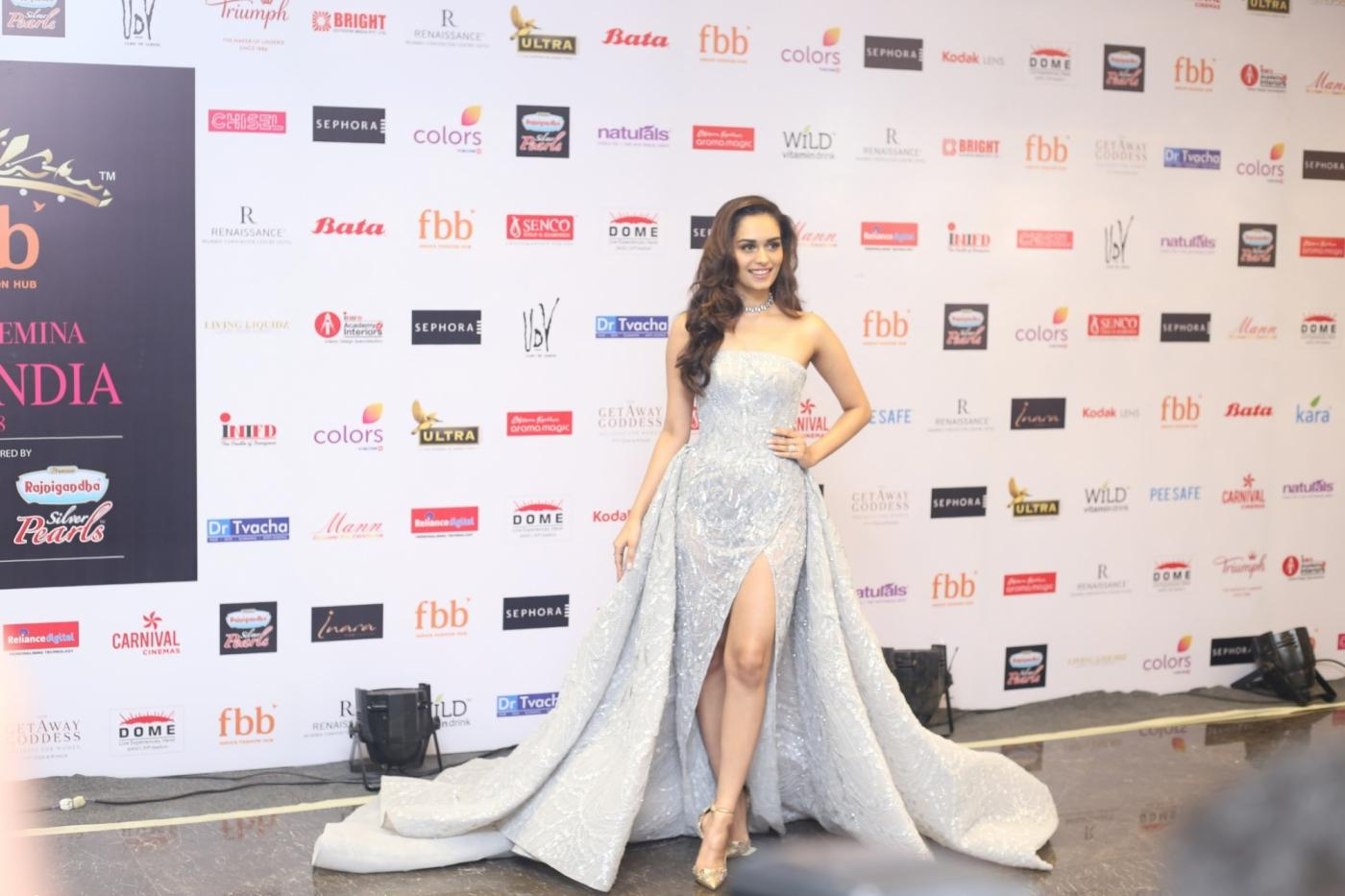Mumbai: Miss World 2017 Manushi Chillar at the Red Carpet for the Grand finale of Miss India 2018 in Mumbai on June 19, 2018. (Photo: IANS) by .