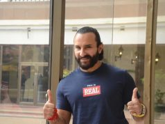 Mumbai: Actor Saif Ali Khan seen at a Mumbai hotel, on Oct 13, 2018. (Photo: IANS) by .